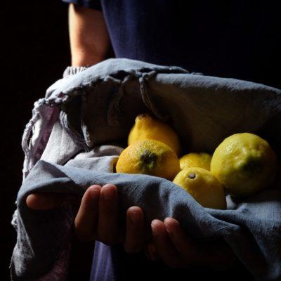 Credici e sei già a metà strada Torta al limone